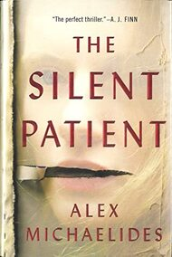 The cover of The Silent Patient by Alex Michaelides