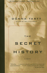 The cover of The Secret History by Donna Tartt